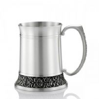 Royal Selangor cast Classic Expression Tankard, Satin Finish (S)